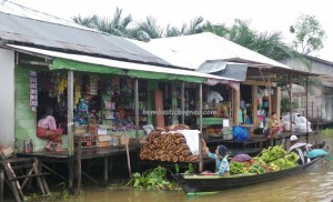 Pasar Terapung, Floating Market, Lok Baintan, ethnic Banjarese, dayak, native. culture, Borneo, Kota Banjarmasin, Martapura River, Tourism, tourist attraction, traditional, travel guide, village, 南加里曼丹 旅游景点