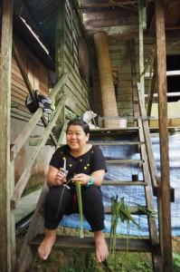 cooking lesson, authentic, indigenous, Borneo Heights, Kampung Sapit, Padawan, Kuching, Malaysia, Community Service, seva, native, dayak bidayuh, tribe, Non Profit Organization, 沙捞越,