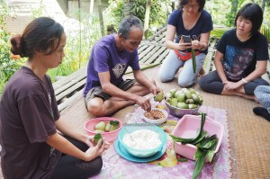 exotic delicacy, glutinous rice, authentic, Borneo Highlands, Kampung Sapit, village, Padawan, Kuching, Malaysia, charity, volunteer, education, dayak bidayuh, Non Government Organization, 沙捞越美食