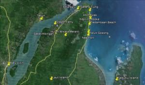waterfront, Pantai Gedambaan, Beach, Borneo, Indonesia, Kalsel, Kotabaru, island, nature, objek wisata, outdoors, tourism, tourist attraction, 南加里曼丹, 婆罗州