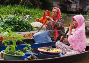 Pasar Terapung, Floating Market, Lok Baintan, Indigenous, klotok, Boat ride, South Kalimantan, Kota Banjarmasin, river city, Sungai Martapura, obyek wisata, outdoors, Tourism, village, travel guide, 南加里曼丹旅游景点