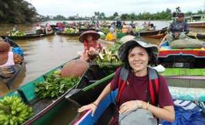 Pasar Terapung, Lok Baintan, authentic, ethnic Banjarese, klotok, Boat ride, culture, Borneo, South Kalimantan, Kota Seribu Sungai, Martapura river, obyek wisata, Tourism, tourist attraction, village, 婆罗州旅游景点