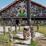 Desa Budaya Sungai Bawang, Balai Adat, authentic, culture, Borneo, Indonesia, East Kalimantan, Kutai Kartanegara, Suku Dayak Kenyah, motifs, sculptures, Tourism, tourist attraction, travel guide, tribal,