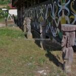 Desa Budaya Sungai Bawang, authentic, backpackers, Kalimantan Timur, Kutai Kartanegara, Suku Dayak Kenyah, native, sculptures, Tourism, tourist attraction, traditional, travel guide, village, 东加里曼丹, 旅游景点