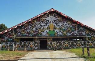 Balai Adat, indigenous, culture, Indonesia, East Kalimantan, Muara Badak, motifs, sculptures, Tourism, tourist attraction, traditional, travel guide, tribal, 东加里曼丹, 旅游景点