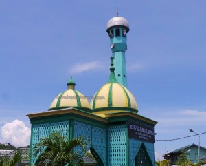 Masjid Jami, authentic, traditional, backpackers, kampung, Borneo, fishing village, Water Village, tour guide, Tourism, tourist attraction, obyek wisata, destination, 婆罗州, 旅游景点