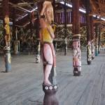 Desa Budaya Sungai Bawang, Balai Adat, authentic, Borneo, Muara Badak, Suku Dayak Kenyah, native, sculptures, Totem Pole, Tourism, tourist attraction, traditional, travel guide, tribal, 东加里曼丹