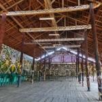 Desa Budaya Sungai Bawang, backpackers, destination, culture, Kalimantan Timur, Kutai Kartanegara, Muara Badak, motifs, sculptures, Tourism, tourist attraction, tribal, tribe, village, 东加里曼丹,