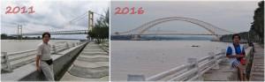 promenade, waterfront, bridge, backpackers, destination, Indonesia, Borneo, Obyek wisata, Tourism, tourist attraction, travel guide, 东加里曼丹, 婆罗州, 旅游景点