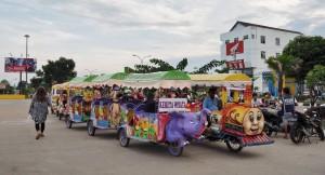 Kumala island, promenade, waterfront, bridge, kutai kartanegara, family vacation, holiday, Obyek wisata, Tourism, tourist attraction, travel guide, 东加里曼丹, 婆罗州, 旅游景点