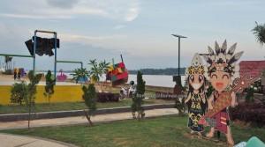 Kumala island, promenade, waterfront, backpackers, destination, Kutai kartanegara, family vacation, holiday, Obyek wisata, Tourism, travel guide, 东加里曼丹, 婆罗州, 旅游景点