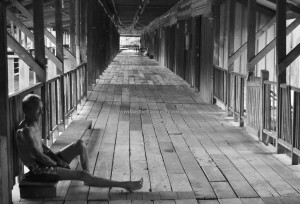 rumah panjang, village, indigenous, traditional, Sungai Asap, Bakun Dam resettlement, Belaga, Borneo, Sarawak, Malaysia, native, Dayak, Orang Ulu, tourist attraction, travel guide,