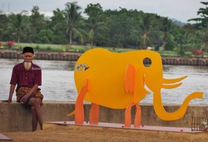 Pulau Kumala, promenade, backpackers, destination, Indonesia, kutai kartanegara, family vacation, holiday, Obyek wisata, tourist attraction, travel guide, 东加里曼丹, 婆罗州, 旅游景点