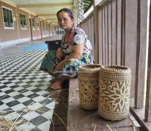 Long Wat, longhouse, rattan handsicrafts, Murum dam, Tegulang resettlement, Belaga, Kapit, Bintulu, Malaysia, tribal, ethnic, backpackers, tourism, travel guide, 婆罗州长屋
