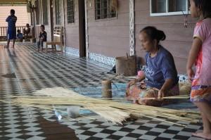 longhouse, village, rotan, handicrafts, destination, Tegulang resettlement, Belaga, Bintulu, Malaysia, Dayak, native, tribe, indigenous, Tourism, 沙捞越长屋