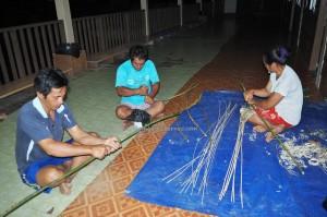 longhouse, village, rotan, handicrafts, backpackers, Murum dam, Belaga, Kapit, Bintulu, Borneo, Dayak Penan, native, Ethnic, tourist attraction, travel guide,