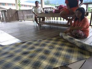 longhouse, village, rattan handicrafts, Murum dam, Tegulang resettlement, Belaga, Kapit, Bintulu, Borneo, Malaysia, native, tribal, tribe, indigenous, Tourism,