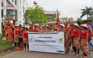 Gawai Padi, Paddy Harverst Festival, backpackers, transborder, culture, Dayak Kanayatn, Ethnic, native, tribe, Borneo, Kampung Budaya, Ngabang, obyek wisata, travel guide, village,