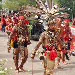 cultural parade, Naik Dango, Gawai Harverst Festival, indigenous, culture, Ethnic, native, Borneo, Indonesia, Landak, Ngabang, tourist attraction, traditional, travel guide, 婆罗洲丰收节日,