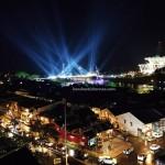 Darul Hana Bridge, jambatan, Malaysia, Sarawak river, Obyek wisata, Tourism, tourist attraction, tour guide, 古晋, 沙捞越, 婆罗州, 旅游景点, 步行桥