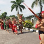 cultural parade, Naik Dango, Gawai Harverst Festival, backpackers, culture, event, native, tribal, Indonesia, Landak, Ngabang, Travel guide, traditional, village, 西加里曼丹丰收节日,