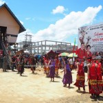 Gawai harvest festival, ritual, thanksgiving, authentic, traditional, culture, dayak, native, Borneo, Kalimantan Barat, Kampung Budaya, Ngabang, Rumah Radakng, Tourism, travel guide,