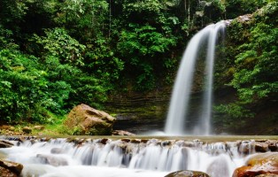 Ecotourism Park, air terjun, adventure, nature, outdoors, jungle trekking, authentic, homestay, exploration, hidden paradise, Lawas, Limbang, Malaysia, tourist attraction, crossborder, 砂拉越婆罗洲瀑布
