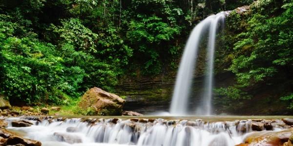 Ecotourism Park, air terjun, adventure, nature, outdoors, jungle trekking, authentic, homestay, exploration, hidden paradise, Lawas, Limbang, Malaysia, tourist attraction, crossborder, 砂拉越婆罗洲瀑布