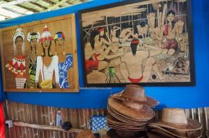 Ceramic beads, Kraftangan, Gawai Dayak, Irau Aco Lun Bawang Festival, event, authentic, Lawas, Limbang, Malaysia, tribal, tribe, Orang Ulu, Tourism, travel guide, 婆罗洲, 砂拉越原著民