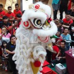Plaza Merdeka, Borneo, Sarawak, Kuching, Malaysia, championship, competition, traditional, Chinese culture, lion dance, pertandingan, tarian singa, Singapore Tian Eng, tourism,