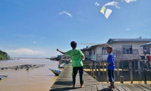 Ikan Tahai, Smoked fish, seafood, water village, Kampung Punang, authentic, traditional, backpackers, destination, transborneo, Sarawak, Lawas, Malaysia, Tourism, tourist attraction, travel guide,