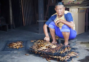 Ikan Tahai, Smoked fish, fishy snacks, malay village, Kampung Punang, authentic, traditional, Lawas, Limbang, Malaysia, Tourism, travel guide, transborder, 砂拉越, 原著民旅游景点