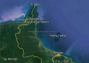 Teluk Atong Bahari, Camar Bulan Resort, beach chalets, Upside Down House, backpackers, destination, Indonesia, adventure, nature, outdoor, Obyek wisata, Tourism, crossborder, 婆罗洲, 西加里曼丹