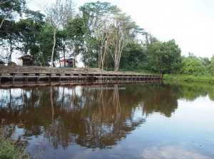 accommodation, Camar Bulan, beach chalets, pantai, Rumah Terbalik, destination, Borneo, Paloh, Sambas, nature, outdoor, Tourism, tourist attraction, travel guide, transborder,