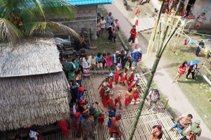 Gawai Harvest Festival, authentic, Bengkayang, Indonesia, Desa Tangguh, Dusun Betung, native, Obyek wisata budaya, Rumah Adat Baluk, Tourism, travel guide, traditional, transborneo, village, 西加里曼丹, 原著民丰收节日