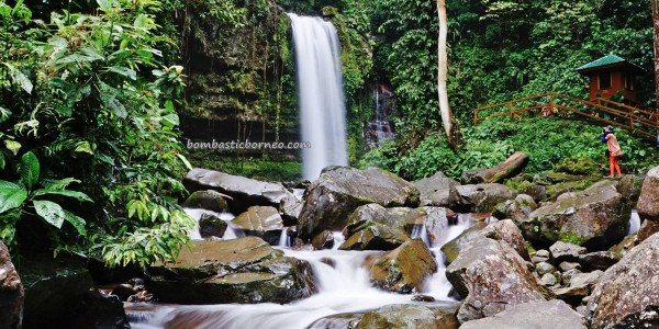 Rainforest Paradise, waterfall, nature, outdoor, adventure, exploration, conservation, backpackers, destination, Interior Division, tourist attraction, travel guide, Transborneo, 沙巴旅游景点, 婆罗洲瀑布