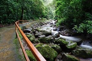 Rainforest Paradise, air terjun, adventure, nature, outdoor, jungle trekking. Crocker Range Park, destination, Borneo, Interior Division, Malaysia, Tourism, tourist attraction, crossborder, 坦布南沙巴, 婆罗洲瀑布