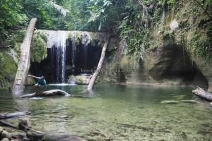 Indonesia, waterfall, adventure, nature, exploration, backpackers, destination, Borneo, hidden paradise, Obyek wisata, Tourism, tourist attraction, travel guide, crossborder, 婆罗洲瀑布, 旅游景点
