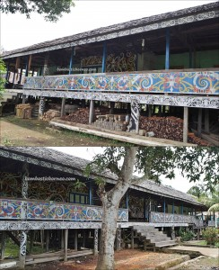 Desa Setulang, indigenous, culture, destination, Borneo, Malinau Selatan Hilir, dayak motif, native, tribal, rumah panjang, Tourism, tourist attraction, travel guide, crossborder, 婆罗洲原著民, 旅游景点
