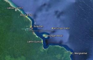 Pulau Kaniungan Kecil, Teluk Sulaiman, Lamin Guntur Eco Lodge, adventure, nature, backpackers, destination, Biduk-Biduk, Borneo, Wisata alam, Tourism, tourist attraction, vacation, transborder, 婆罗洲岛, 旅游景点