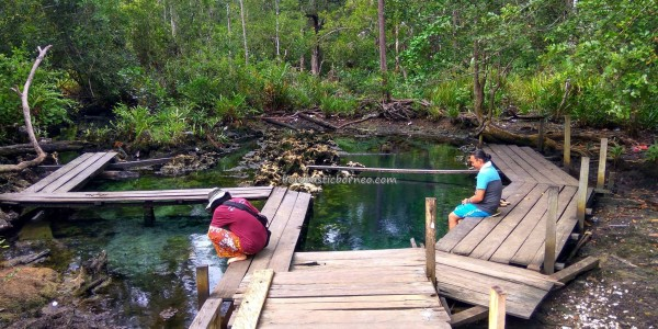 Kampung Biatan Bapinang, Kolam Air Panas Asin, detox, Health, outdoor, nature, backpackers, East Kalimantan, Indonesia, family vacation, wisata alam, Tourism, tourist attraction, crossborder, 东加里曼丹, 温泉旅游景点