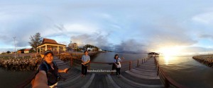 backpackers, destination, waterfront, exploration, Interior Division, Malaysia, nature, Pekan, sunset, Tourism, travel guide, Transborneo, 沙巴婆罗洲, 旅游景点
