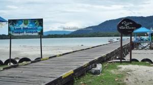 fishing village, Lamin Guntur Eco Lodge, outdoor, backpackers, destination, Borneo, Tanah Surga, island, white sandy beach, Tourism, tourist attraction, travel guide, vacation, transborder, 东加里曼丹, 旅游景点
