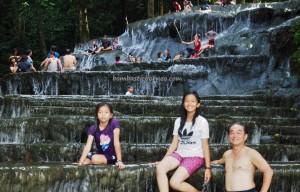 Semolon waterfall, Cascade, air panas, outdoor, exploration, backpackers, Borneo, Indonesia, Kalimantan Utara, Malinau, Desa Paking, hidden paradise, tourist attraction, Tourism, travel guide, transborder,
