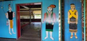 Berusu tribe, Rumah adat Intok intimung, authentic, traditional, culture, backpackers, Kalimantan Utara, Indonesia, native, tribal, obyek wisata, Tourism, travel guide, crossborder, 北加里曼丹, 婆罗洲原著民,