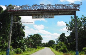 Balat Adat Udau Jalung, authentic, traditional, culture, destination, Borneo, North Kalimantan, native, tribal, dayak motif, Obyek wisata, Tourism, travel guide, crossborder, 北加里曼丹, 婆罗洲