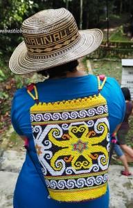 beads, rotan, handicrafts, Air Terjun Semolon, Waterfall, exploration, backpackers, Indonesia, Kalimantan Utara, Malinau, Lundayeh, Tourism, tourist attraction, travel guide, crossborder,
