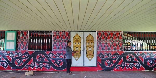 Suku Dayak Belusu, Rumah adat Intok intimung, authentic, traditional, culture, village, destination, Borneo, Desa Sesua, native, tribal motif, Tourism, travel guide, Transborneo, 婆罗洲原著民, 旅游景点