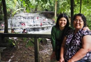 Air Terjun, Waterfall, nature, exploration, backpackers, Borneo, Indonesia, Mentarang, hidden paradise, family holiday, wisata alam, Tourism, tourist attraction, crossborder, 婆罗洲瀑布, 旅游景点