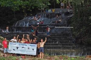 Air Terjun, Cascade, hotspring, adventure, nature, outdoor, exploration, North Kalimantan, Malinau, Mentarang, Desa Paking, hidden paradise, Tourism, tourist attraction, 北加里曼丹, 婆罗洲瀑布